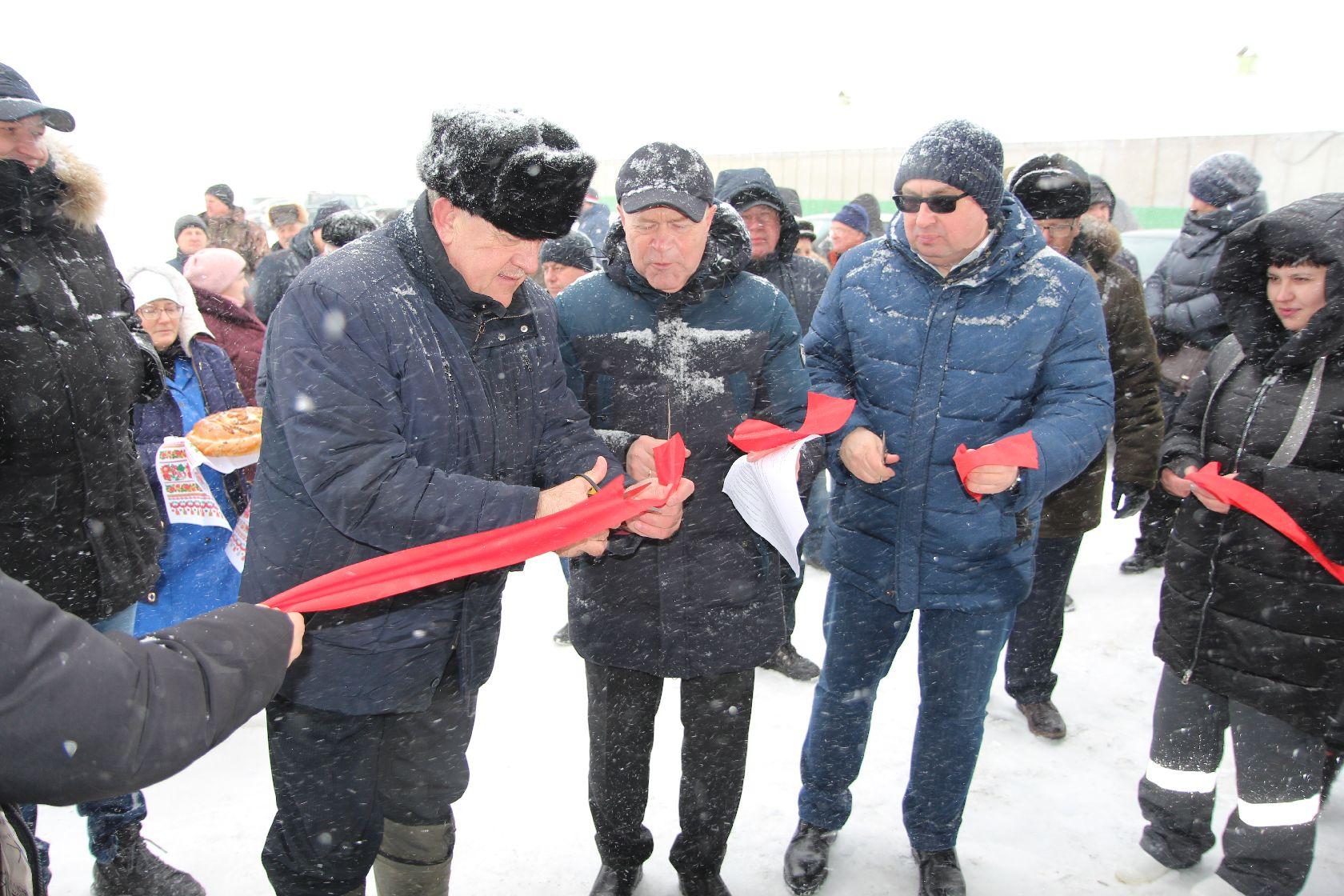 Новая животноводческая ферма на 300 голов открылась в Здвинском районе