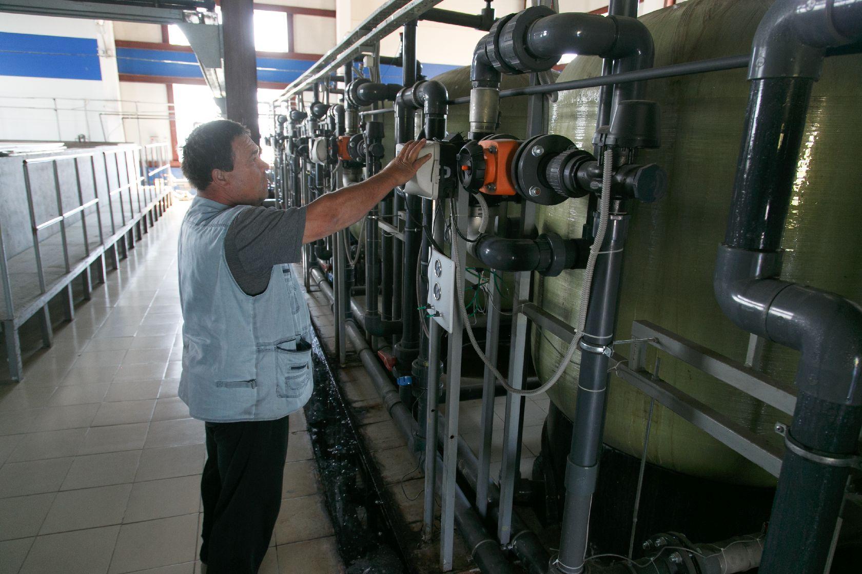 Водоочистная станция