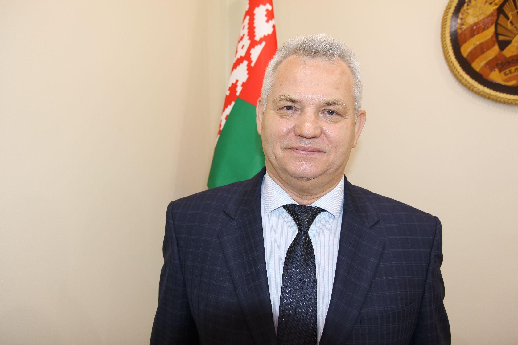 Сергей Пятков Посол Республики Беларусь в Российской Федерации в городе Новосибирске