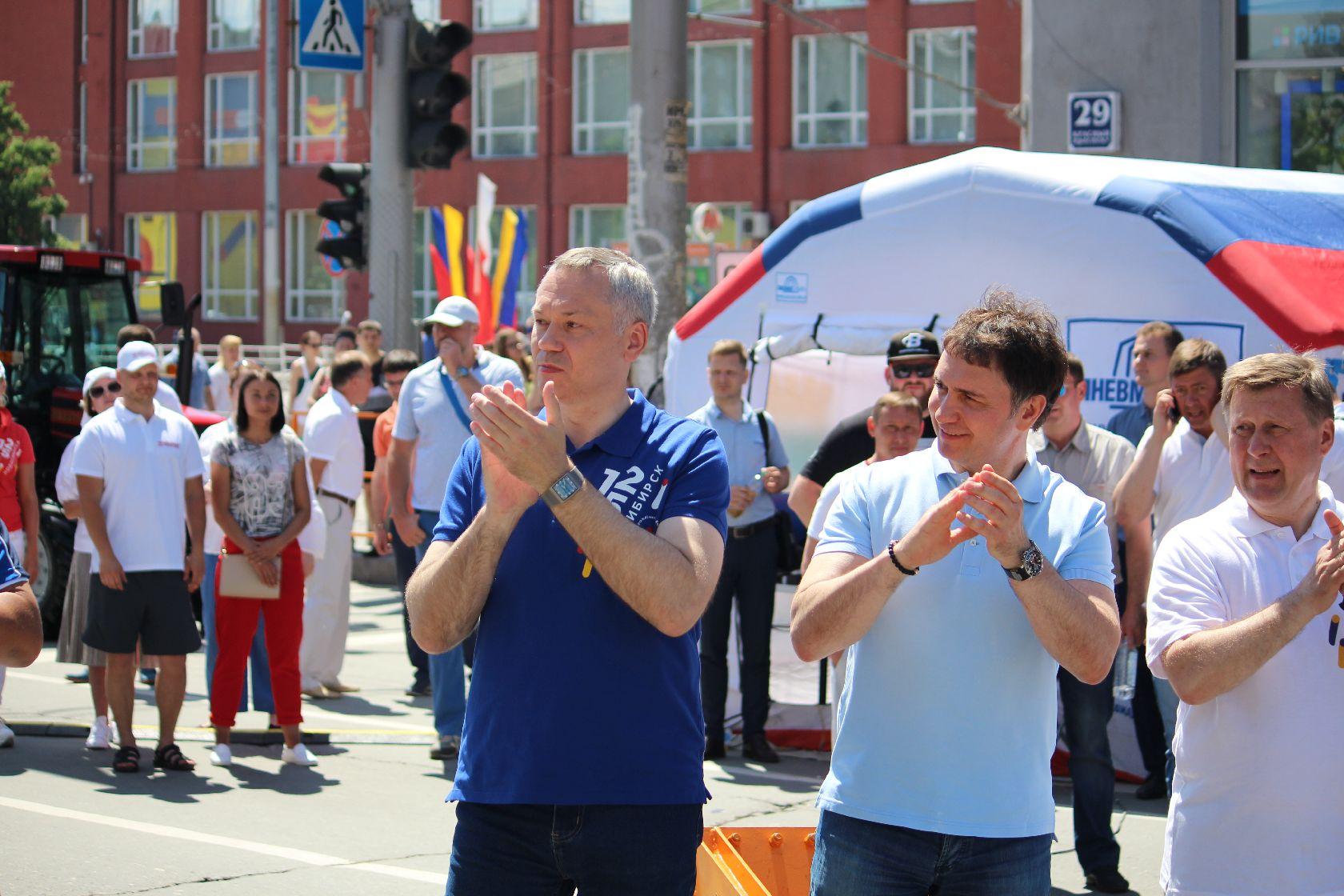 Травников и Локоть на третем этапе чемпионата России по силовому экстриму