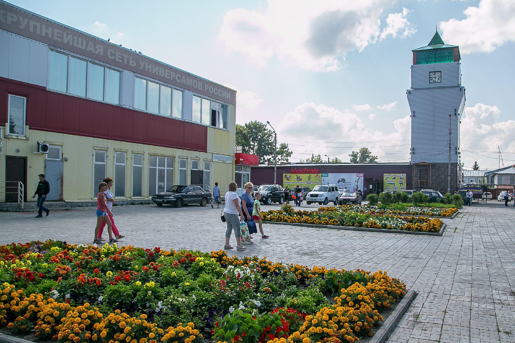 Торговый комплекс в Черепаново