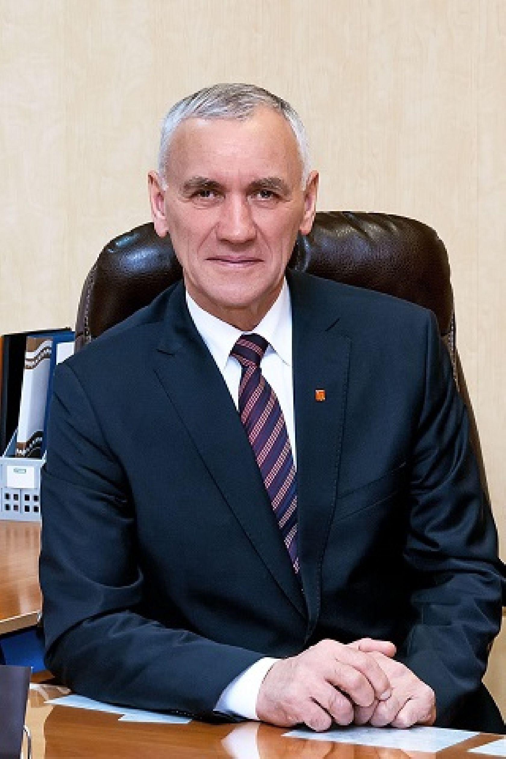 Владимир Нагель, директор Куйбышевского сельскохозяйственного техникума