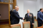 Губернатор Андрей Травников принял участие во встрече с Героями Советского Союза и Российской Федерации