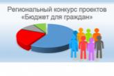 В регионе стартовал приём заявок на участие в конкурсе проектов «Бюджет для граждан»