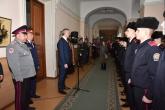 Губернатор Андрей Травников поздравил кадет профильного класса СК РФ с принятием торжественной клятвы