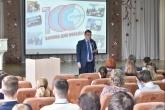Министр образования региона Сергей Федорчук провел открытый урок для школьников о подготовке к ЕГЭ