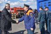 Губернатор Андрей Травников проконтролировал усиление мер противопожарной безопасности в районах