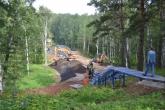 Новый мост через Забобурыху в р.п. Кольцово соединит жилые микрорайоны с парковой зоной в рамках нацпроекта