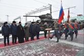 Заместитель Губернатора Сергей Нелюбов принял участие во встрече советских танков Т-34, прибывших из Лаоса
