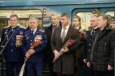 В новосибирском метро начал курсировать вагон, посвященный 30-летию вывода войск из Афганистана