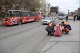 Улучшить качество ремонта дорог в Новосибирске и усилить контроль за выполнением работ подрядчиками необходимо мэрии областного центра