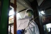 Минтранс региона проконтролировал обработку общественного транспорта от коронавируса