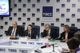 пресс-конференция, посвященная проблемам безопасности на агропромышленном рынке.