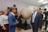 Андрей Травников высоко оценил вклад экспертов СГУГиТ в развитие цифровой экономики Новосибирской области
