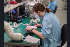 Ускорить производственный процесс на новосибирском предприятии позволил нацпроект