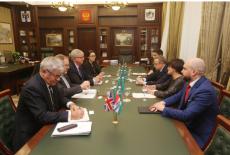 Развитие сотрудничества между Новосибирской областью и Великобританией продолжится