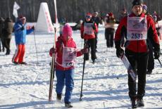 Более 11 тысяч новосибирцев приняли участие в массовом забеге «Лыжня России-2018»