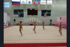 Кубок Губернатора Новосибирской области по художественной гимнастике стартовал с соблюдением всех мер безопасности