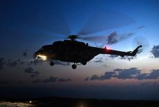 Под Новосибирском ночью рыщут вертолёты