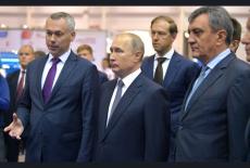 Андрей Травников доложил Владимиру Путину о работе над проектом Академгородок 2.0