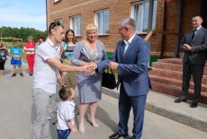 Ключи от 18 новых квартир получили жители Маслянинского района