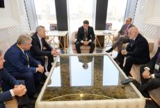 Губернатор Андрей Травников провёл рабочую встречу с Президентом Фонда «Сколково» Виктором Вексельбергом