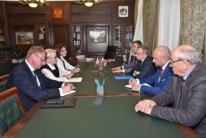 Первый заместитель Губернатора Юрий Петухов встретился с делегацией Республики Беларусь