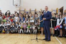 Андрей Травников пожелал успешной учёбы школьникам и студентам Новосибирской области