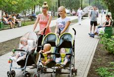 Молодёжная аллея в Кировском районе Новосибирска