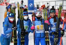 Новосибирская биатлонистка стала победительницей на этапе Кубка Мира