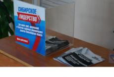 400 предложений за неделю подали жители Новосибирской области в Стратегию развития региона «Сибирское лидерство»