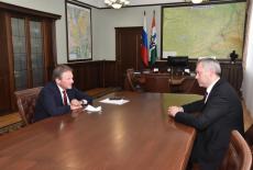 Губернатор обсудил с уполномоченным при Президенте Российской Федерации по защите прав предпринимателей эффективность мер поддержки бизнеса в регионе
