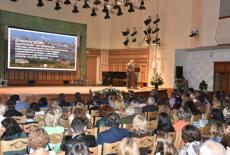 Андрей Травников приветствовал участников педагогических чтений для работников образовательных организаций сферы культуры Новосибирской области