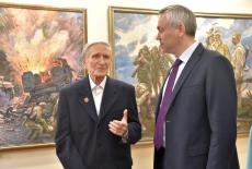 Передвижная выставка картин художника-фронтовика Вениамина Чебанова отправится по районам Новосибирской области
