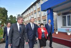Андрей Травников: Убинский район лидирует по темпам благоустройства