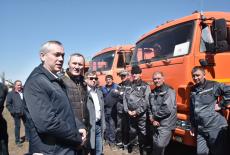 Губернатор Андрей Травников высоко оценил готовность к посевной в Краснозерском районе
