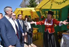 Андрей Травников с рабочим визитом в Куйбышевском районе