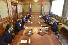 Губернатор Андрей Травников провёл рабочую встречу с представителями Федерации бокса России