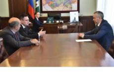Андрей Травников принял участие в подписании соглашения о сотрудничестве между АО «Технопарк Новосибирского Академгородка» и ПАО «Северсталь»