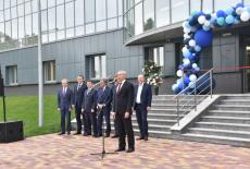Губернатор Андрей Травников принял участие в открытии производственного комплекса компании «Ангиолайн»