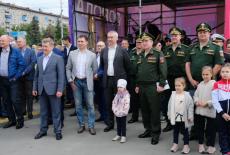 Губернатор Андрей Травников поздравил новосибирцев с Днем города