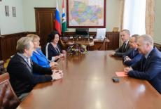 Андрей Травников и Надежда Бабкина договорились о развитии культурного сотрудничества