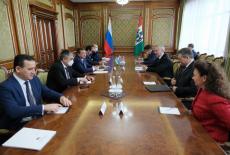 Губернатор Андрей Травников провел рабочую встречу с делегацией Республики Узбекистан
