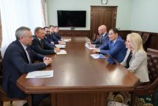 Андрей Травников обсудил с первым вице-президентом Газпромбанка Натальей Третьяк развитие ГЧП в сфере образования региона