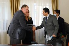 Заместитель Губернатора Сергей Сёмка встретился с делегацией Республики Узбекистан