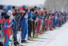 Губернатор Андрей Травников и 15 тысяч новосибирцев приняли участие во Всероссийской массовой лыжной гонке «Лыжня России-2020»