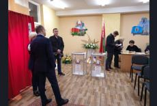Делегация Новосибирской области приняла участие в наблюдении на выборах депутатов Палаты представителей Национального собрания Республики Беларусь