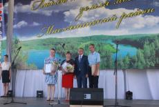 Первый замгубернатора Юрий Петухов поздравил маслянинцев с юбилеем района