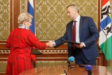 В Новосибирской области подписана дорожная карта развития сотрудничества между региональным Правительством и Топливной компанией Росатома «ТВЭЛ»