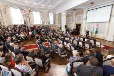 Андрей Травников поздравил членов Ассоциации землячеств Новосибирской области с юбилеем организации